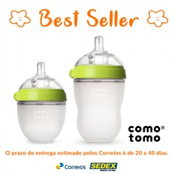 Kit 2 Mamadeiras Comotomo® Green de 150ml + Green 250ml