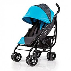 Carrinho Summer Infant 3D-One Convenience Stroller Azul